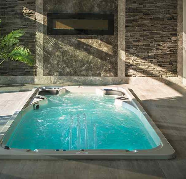 Hydropool Swim Spa Indoor 14 Feet In Ground