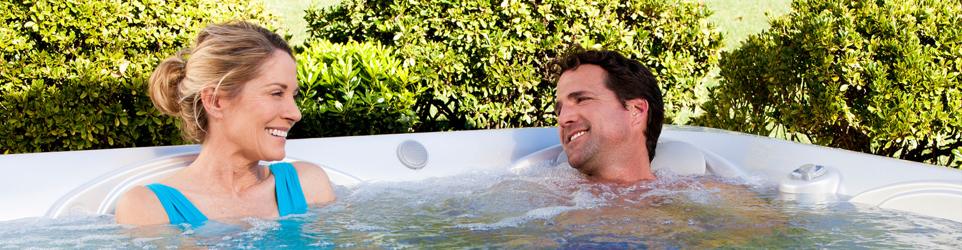 Staying cool in your hot tub