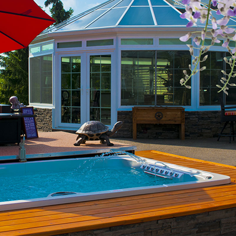 Hydropools Aquasport 12 fX Gazebo Summer