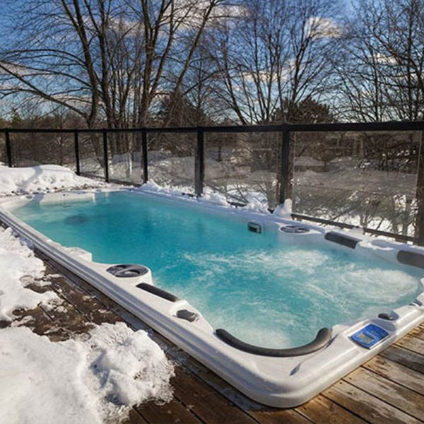 Hydropools Aquasport 19 DTfX Swim Spa Snow