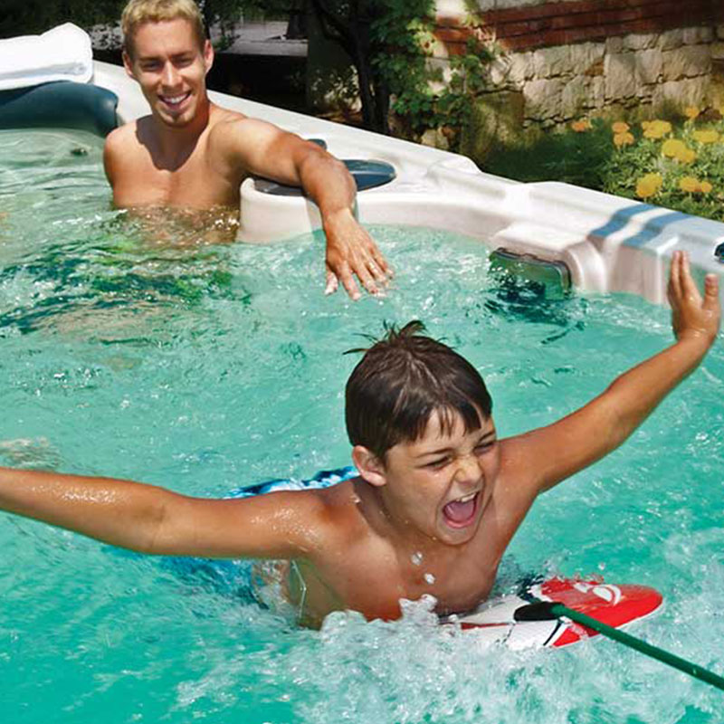 Hydropools Aquasport 19 fX Child Laughing