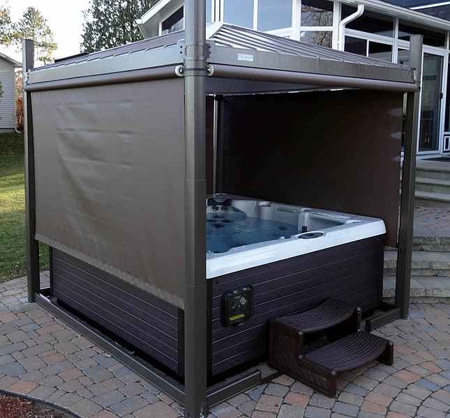 Covana For Spas Covana Oasis Oregon Hot Tub