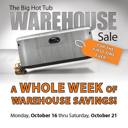 Warehouse Sale and Water Care Class