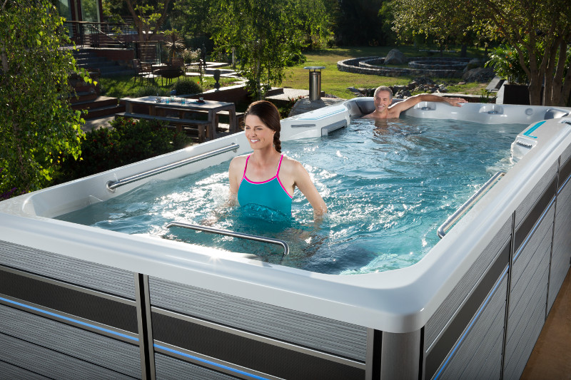 Swim Spas Bend Lap Pools On Sale Or